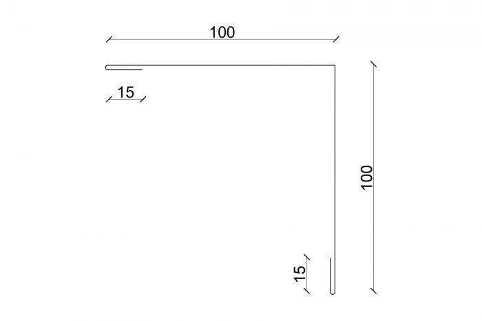 Außenecke 100x100