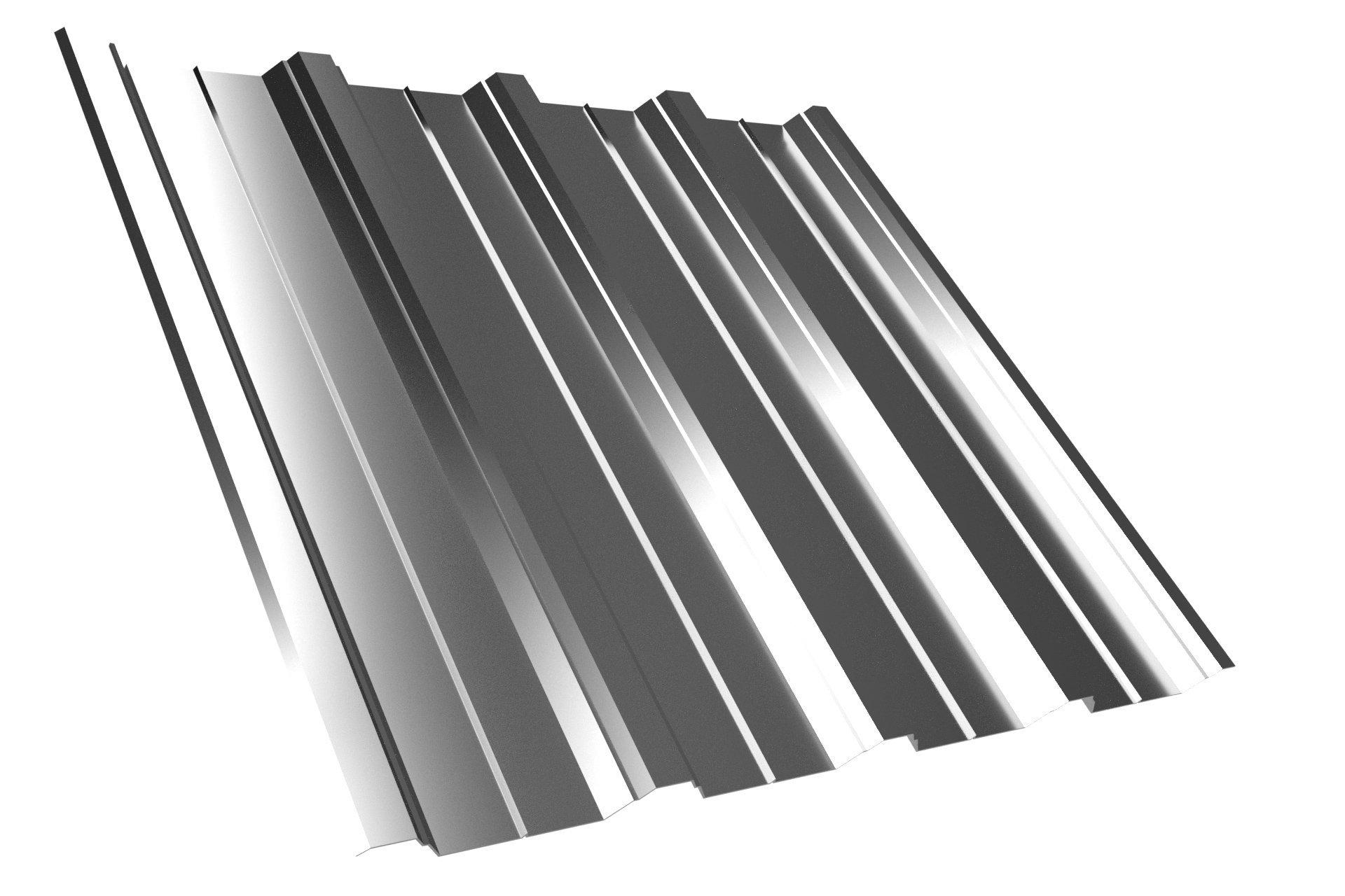Dachplatte T40 Aluzink