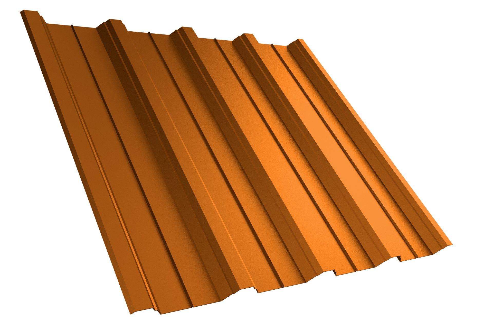 Dachplatte T40 RAL8004