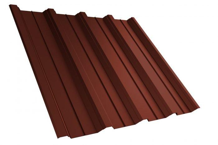 Dachplatte T40 RAL8012