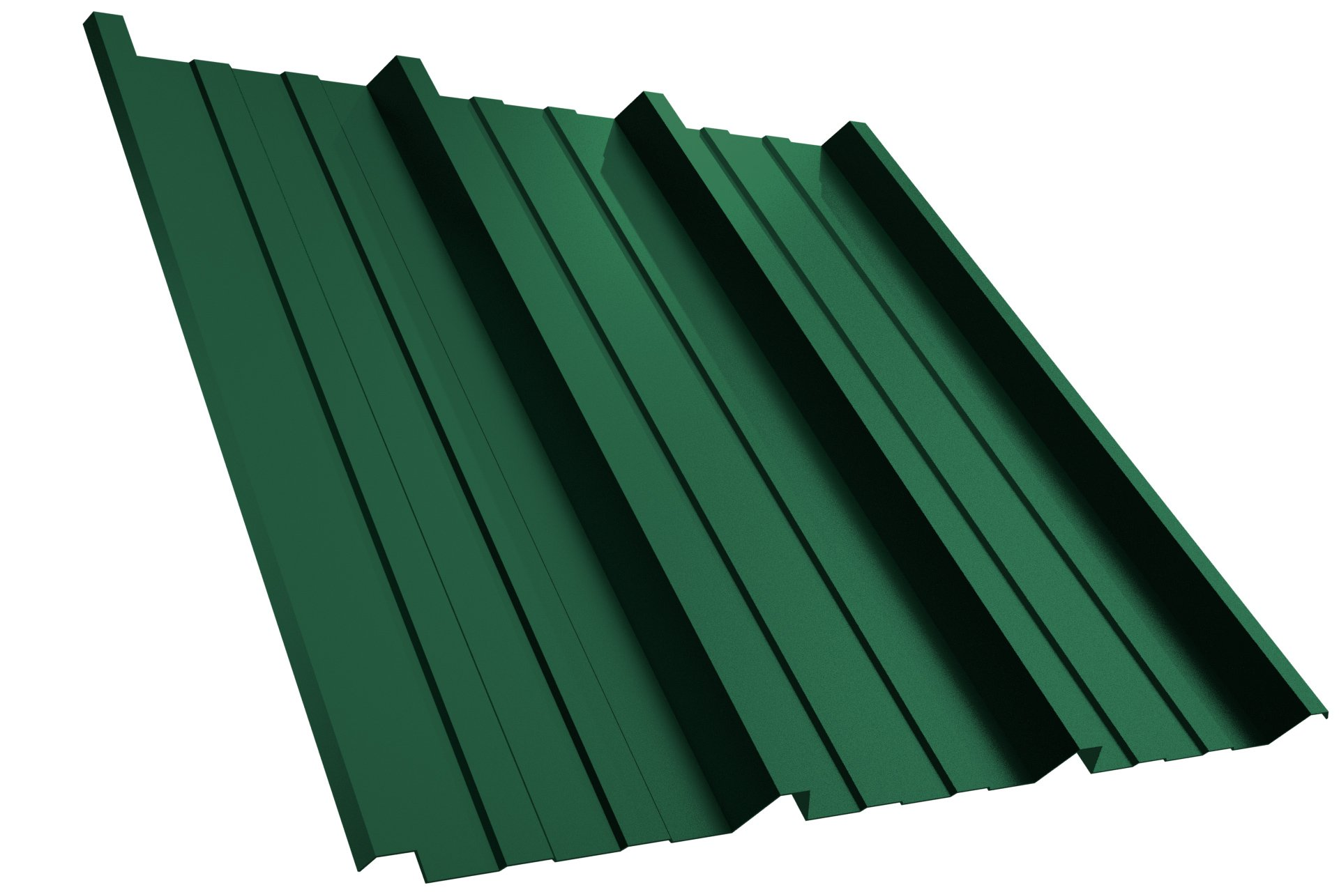 Dachplatte T45P RAL6005