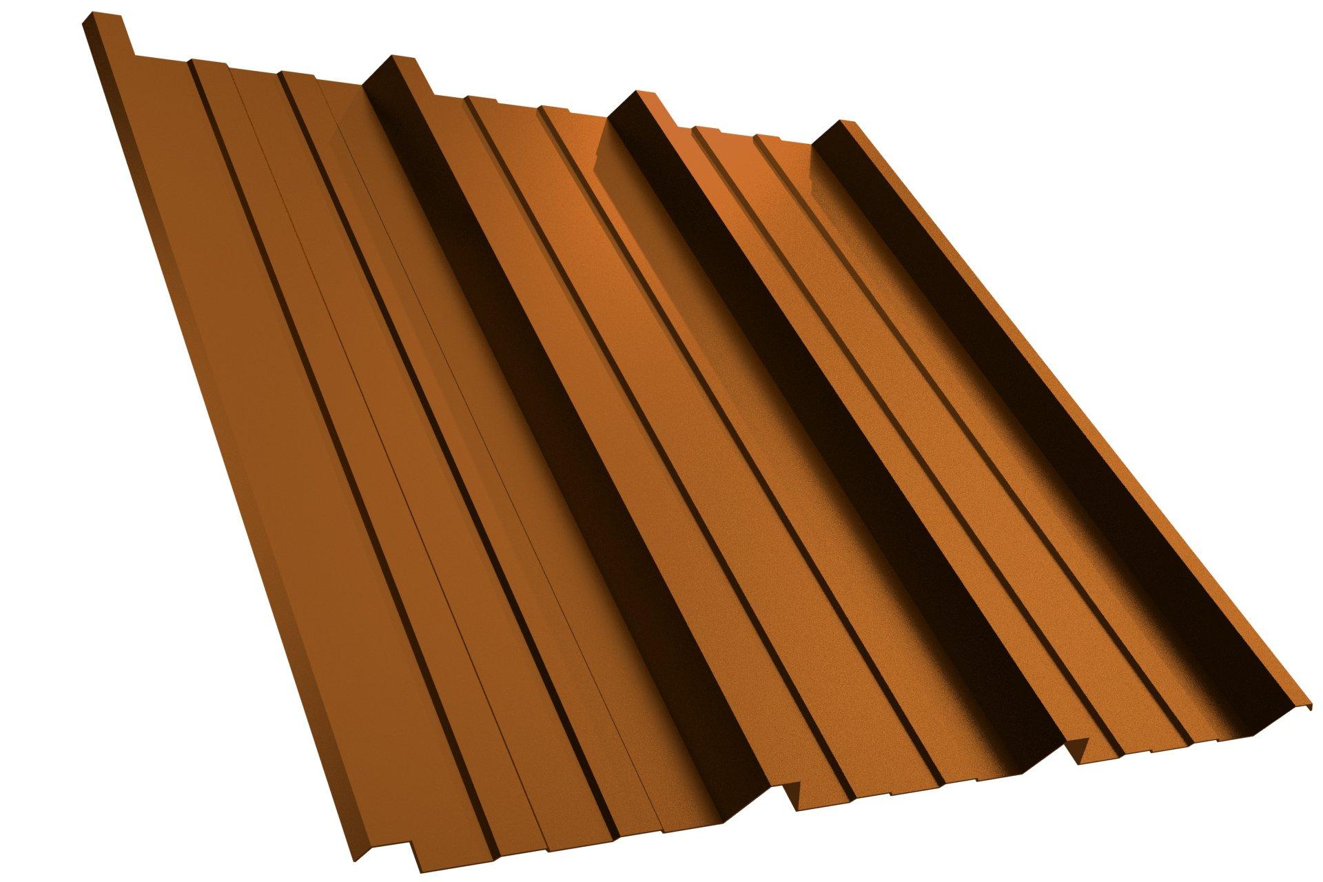 Dachplatte T45P RAL8004