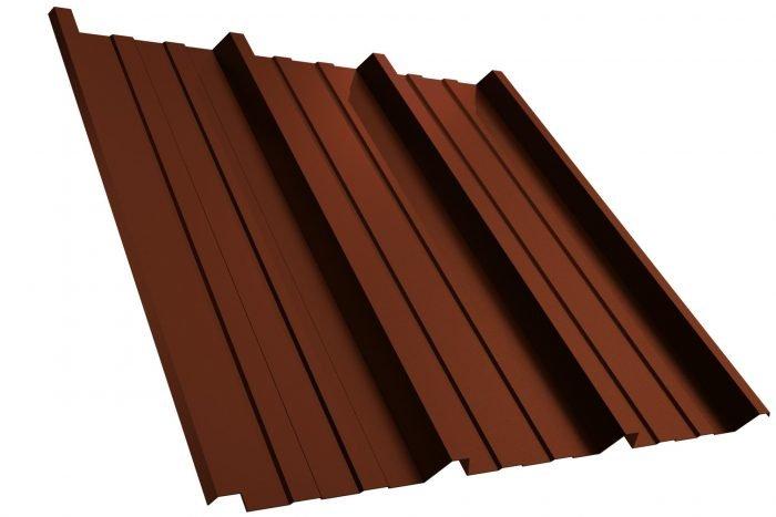 Dachplatte T45P RAL8012