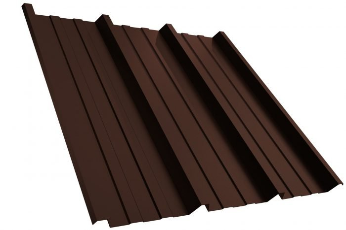 Dachplatte T45P RAL8017