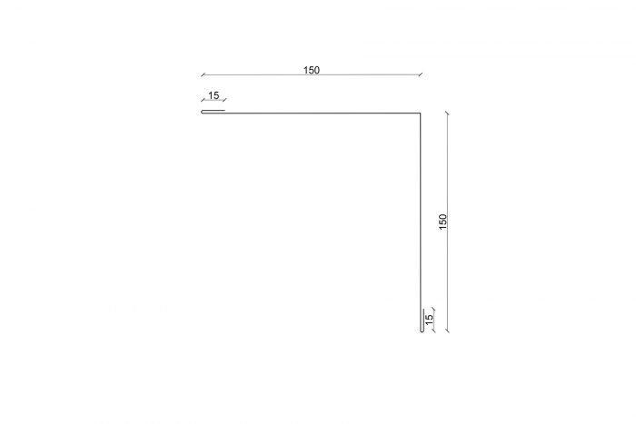 Innenecke ISO Querschnitt